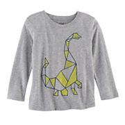 Toddler Boy Jumping Beans® Geometric Dinosaur Softest Tee