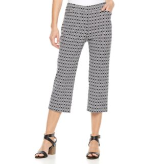 Women's Studio 253 Millennium Geometric Capri Dress Pants