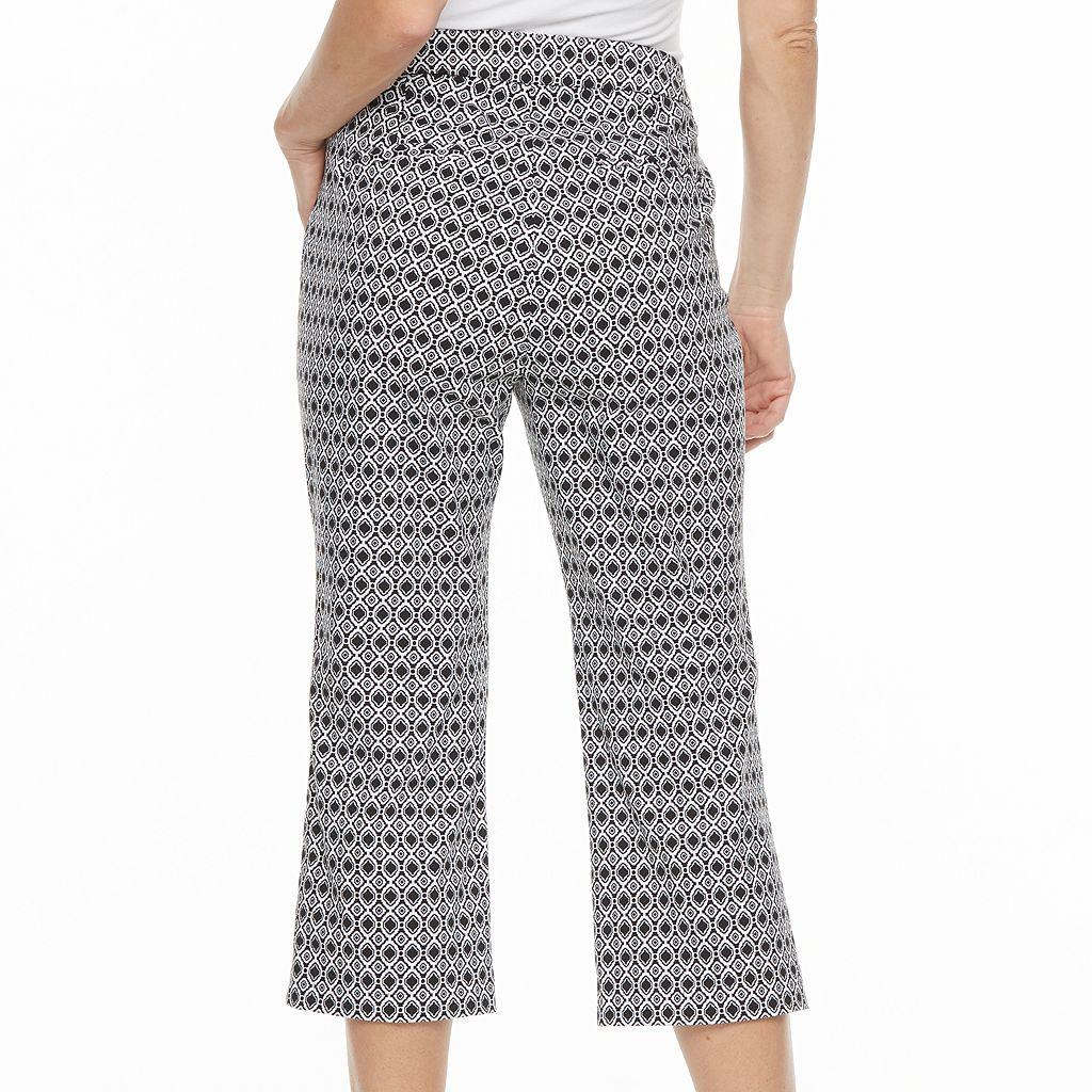 Women's Studio 253 Millennium Geometric Capri Dress Pants