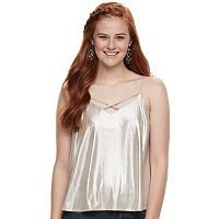 Juniors' Love, Fire Metallic Camisole