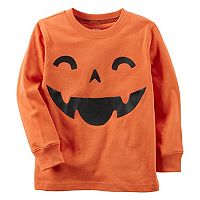 Toddler Boy Pumpkin Long Sleeved Tee