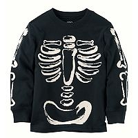 Toddler Boy Carter's Skeleton Long Sleeved Tee
