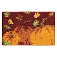 Celebrate Harvest Together Pumpkins & Leaves Rug - 20'' x 30''