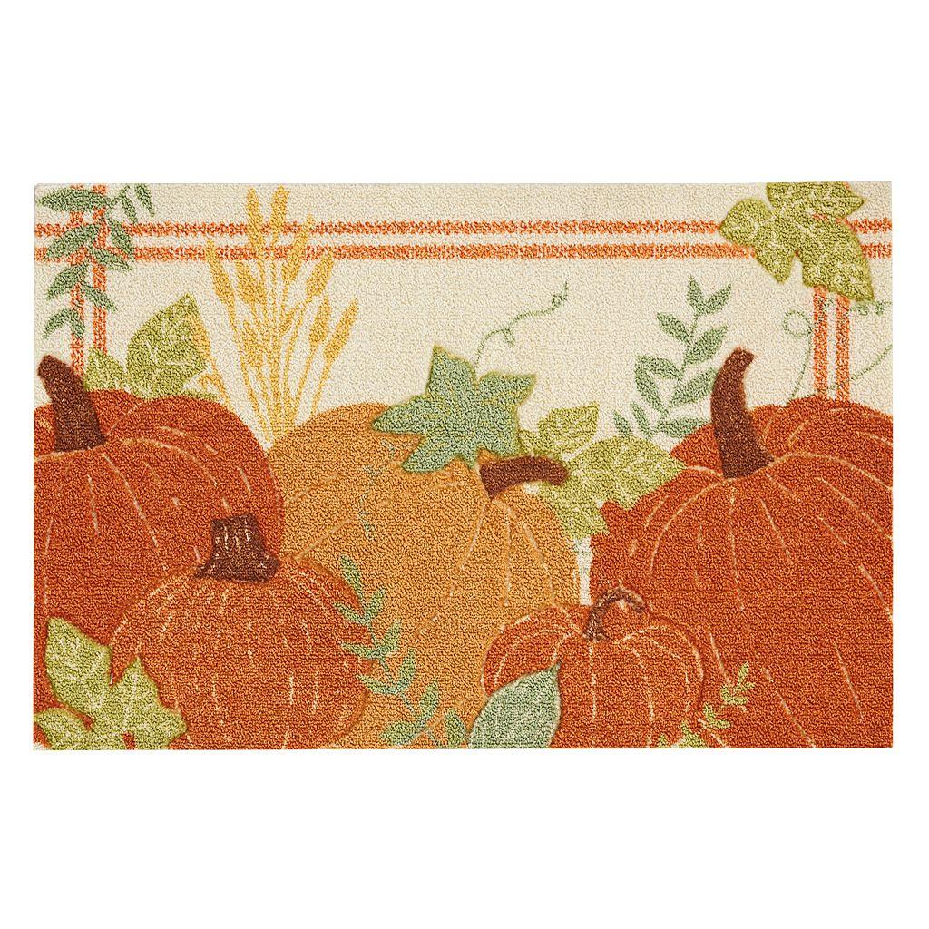 Celebrate Harvest Together Pumpkins Rug - 20'' x 30''