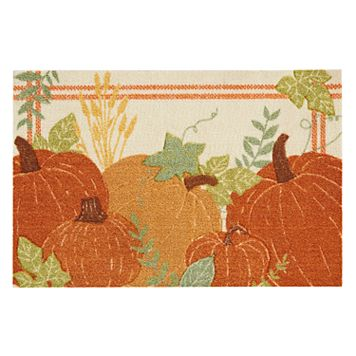 Celebrate Fall Together Pumpkins Rug - 20'' x 30''