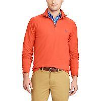 Men's Chaps Classic-Fit Quarter-Zip Stretch Sweater