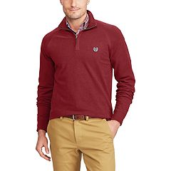 Men's Chaps Classic-Fit Quarter-Zip Stretch Knit Pullover