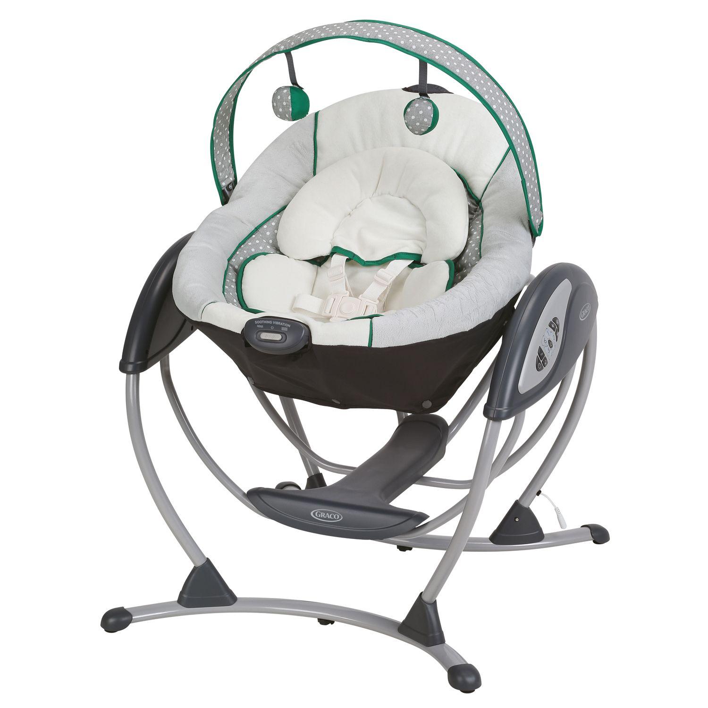 graco glider lx baby swing