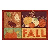 Celebrate Harvest Together ''Fall'' Patchwork Rug - 20'' x 30''