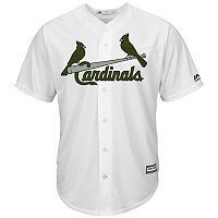 Men's Majestic St. Louis Cardinals Memorial Day Replica Jersey
