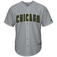 Men's Majestic Chicago Cubs Memorial Day Replica Jersey