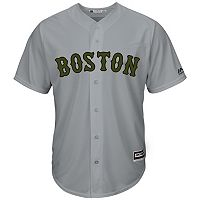 Men's Majestic Boston Red Sox Memorial Day Replica Jersey
