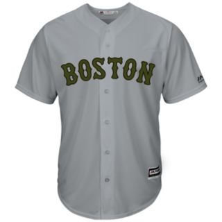 Men's Majestic Boston Red Sox Memorial Day Replica Jersey