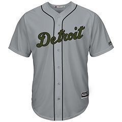 Men's Majestic Detroit Tigers Memorial Day Replica Jersey