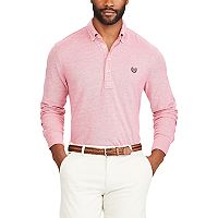 Men's Chaps Classic-Fit Oxford Mesh Polo