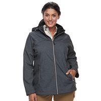 Plus Size ZeroXposur Britney Softshell Jacket