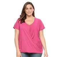 Plus Size SONOMA Goods for Life™ Twist Tee