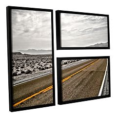 ArtWall ''Slow Curves'' Framed Wall Art 3-piece Set