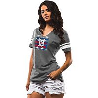 Women's Majestic Detroit Tigers Diamond Play Tee
