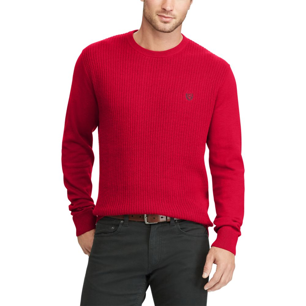 Chaps Classic-Fit Thermal Crewneck Sweater