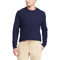 Men's Chaps Classic-Fit Thermal Crewneck Sweater