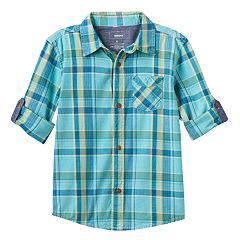 Boys 4-7 SONOMA Goods for Life™ Plaid Shirt