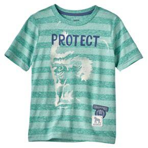 Boys 4-7x SONOMA Goods for Life™ Endangered Animal Striped Tee