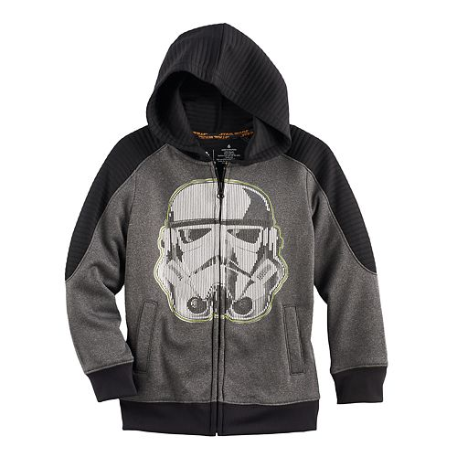 Boys 4-7x Star Wars a Collection for Kohl's Stormtrooper Zip Hoodie