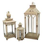 Pomeroy Indoor / Outdoor Lantern Table Decor 3 pc Set