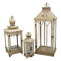 Pomeroy Indoor / Outdoor Lantern Table Decor 3 pc Set