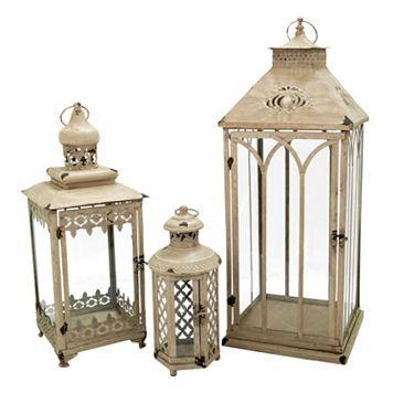 Pomeroy Indoor / Outdoor Lantern Table Decor 3-piece Set