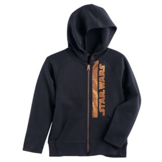 Boys 4-7x Star Wars a Collection for Kohl's Foiled Star Wars Zip Hoodie