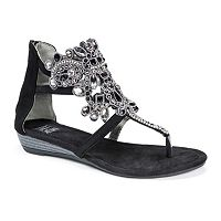 MUK LUKS Athena Women's Wedge Sandals