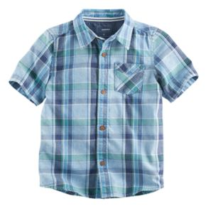 Boys 4-7x SONOMA Goods for Life? Plaid Button Down Top