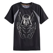 Boys 4-7x Star Wars a Collection for Kohl's Darth Vader Foiled Mesh Raglan Tee