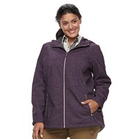 Plus Size ZeroXposur Lillian Softshell Jacket
