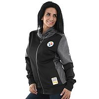Women's Majestic Pittsburgh Steelers Speedy Fly Jacket