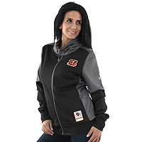 Women's Majestic Cincinnati Bengals Speedy Fly Jacket