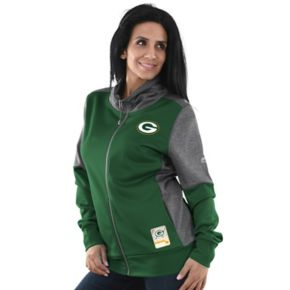 Women's Majestic Green Bay Packers Speedy Fly Jacket