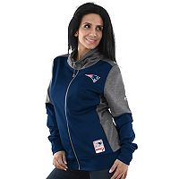 Women's Majestic New England Patriots Speedy Fly Jacket