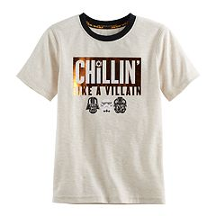 Boys 4-7x Star Wars a Collection for Kohl's 'Chillin' Like A Villain' Tee