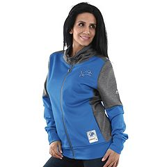 Women's Majestic Detroit Lions Speedy Fly Jacket