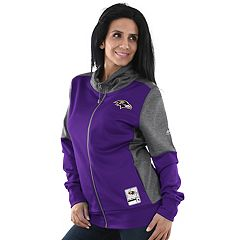 Women's Majestic Baltimore Ravens Speedy Fly Jacket