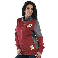 Women's Majestic Washington Redskins Speedy Fly Jacket