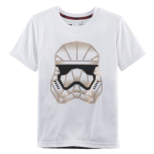 Boys 4-7x Star Wars a Collection for Kohl's Stormtrooper Face Metallic Graphic Tee