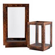 Pomeroy Alpine Indoor / Outdoor Lantern Table Decor 2 pc Set