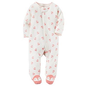 Baby Girl Carter's Fox Terry Sleep & Play