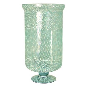 Pomeroy Tall Mosaic Pillar Candle Holder