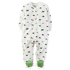 Baby Boy Carter's Dinosaur Terry Sleep & Play
