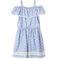 Girls 7-16 Speechless Floral Off-the-Shoulder Dress